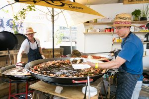 Professional paella catering in Sydney